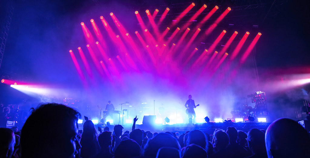 Nine Inch Nails @ 2018 Roskilde Festival on Arena Stage
