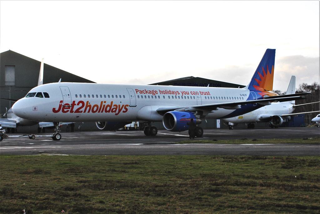 G-HLYF : Airbus A321-211 : Jet2.