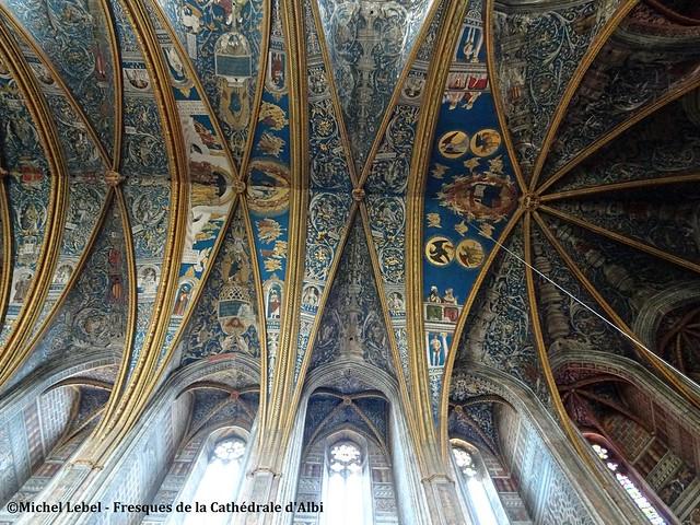 Albi - Fresques de la Cathédrale Sainte Cécile
