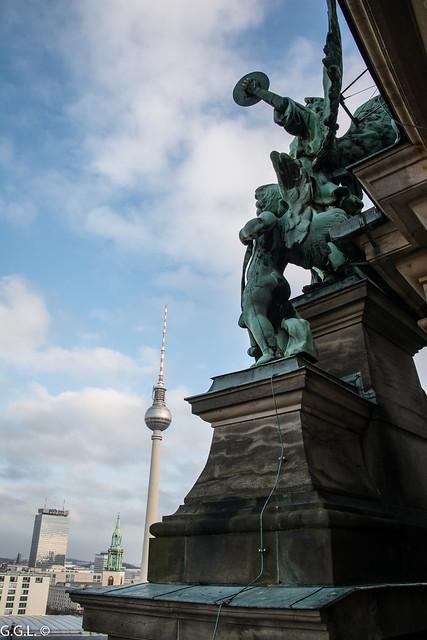 Berliner Dom. Museumsinsel. Von Oben.