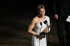 """Oscars 2020 / Renee Zellweger won best actress for her role in """"Judy.""""Credit...Noel West for The New York Times"""