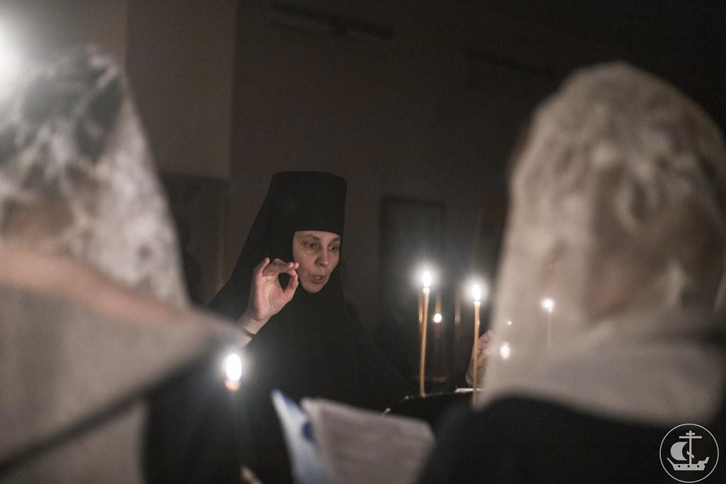 8-9 Февраля 2020, Уставное ночное всенощное бдение / 8-9 February 2020, Statutory all-night vigil