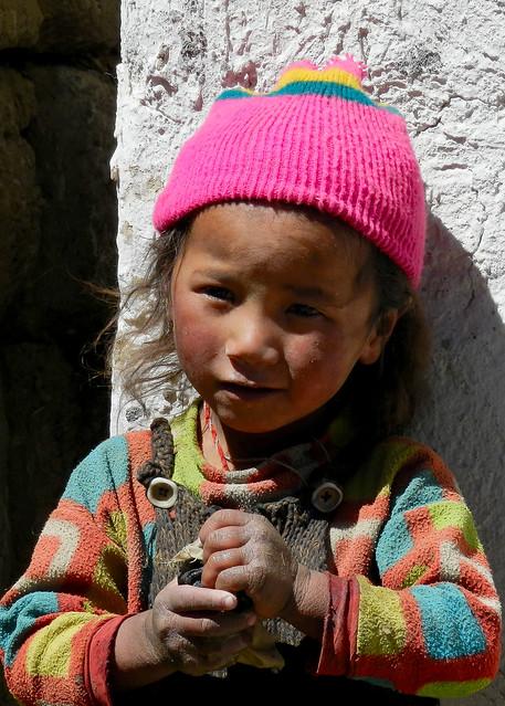 Child - Tingri Tibet