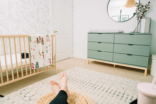 IKEA Baby Room Inspiration - Nursery Reveal | by Get Kamfortable