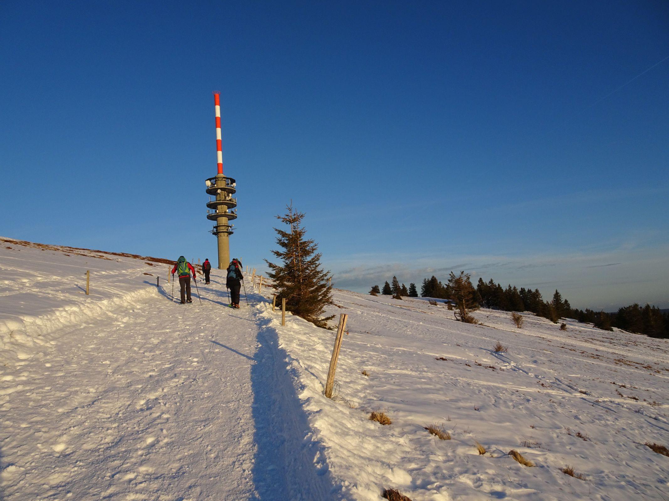 Nacht-Schneeschuhtour Feldberg 08.02.2020