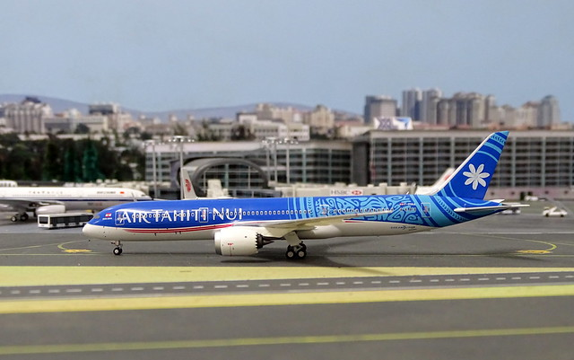 Air Tahiti Nui Boeing 787-9 F-OVAA @ Xin Long Intnl Airport