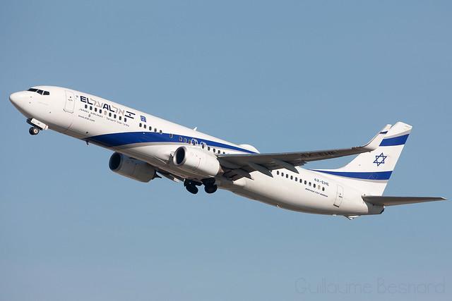 Boeing 737-900ER El Al Israel Airlines 4X-EHE cn 41556/4840