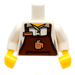 LEGO STORE EXCLUSIVE HALLOWEEN PART NEW Hair Female Pigtails High Bouncy