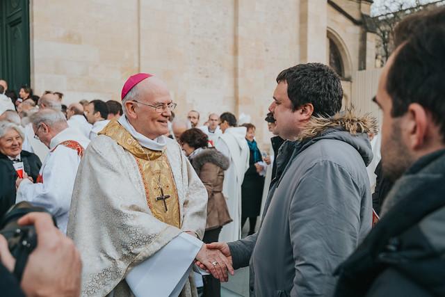 Messe d'installation de Mgr Jean-Paul James, archevêque de Bordeaux