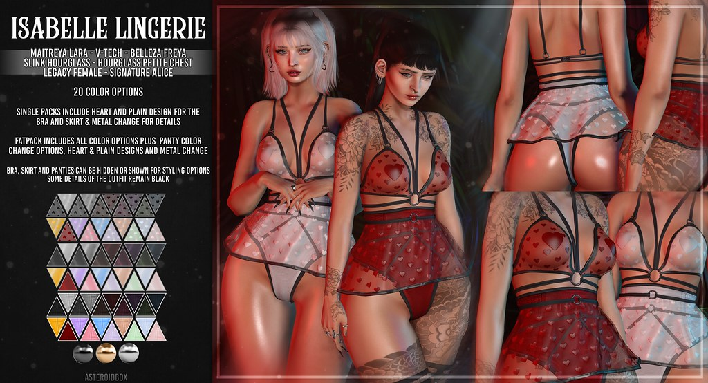 AsteroidBox. Isabelle Lingerie @ Frou Frou