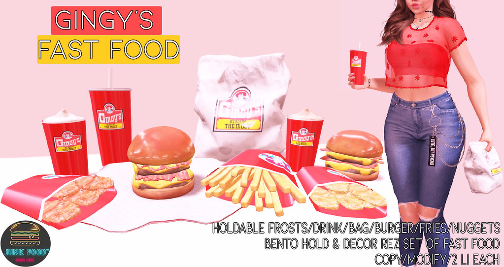 Junk Food – Gingy's Fast Food