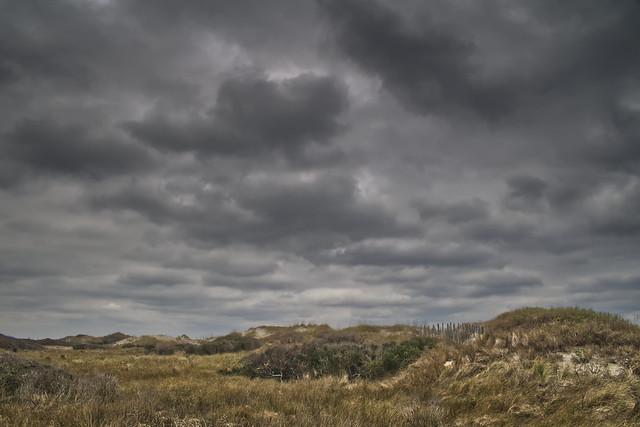 Clouds Over Dunes