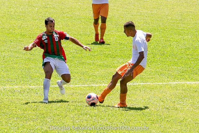 Portuguesa Santista 0 x 0 Atibaia, jogo válido pelo Paulistão A2 de 2020, disputado no dia 26 de janeiro, no estádio Ulrico Mursa