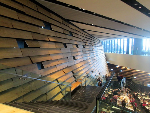 V&A, Dundee, Interior and Stairs