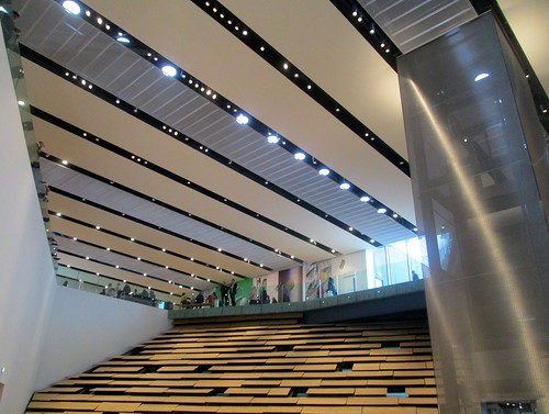 V&A, Dundee, Interior and Ceiling