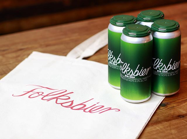 Don't miss out on our last week of Kia Ora, stop by today or this weekend to try it before we're all out! Buy any 4 pack to-go and get one of our new tote bags for 50% off. Kia Ora. 6.2% ABV. Wheat IPA hopped with experimental blend NZL-31-1 from @freesty