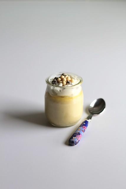lavender-white chocolate pots de crème