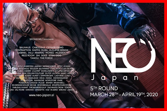 NEO-Japan SL Designers List (MARCH 2020)