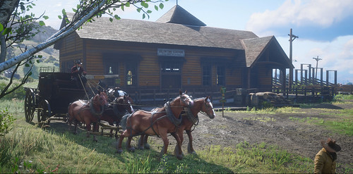 Red Dead Redemption 2 - Stagecoach