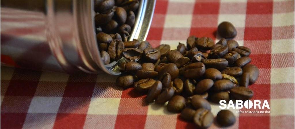 Grans de café para moenda