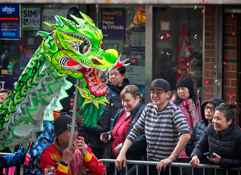 2020 Chinese Lunar New Year Parade in NYC