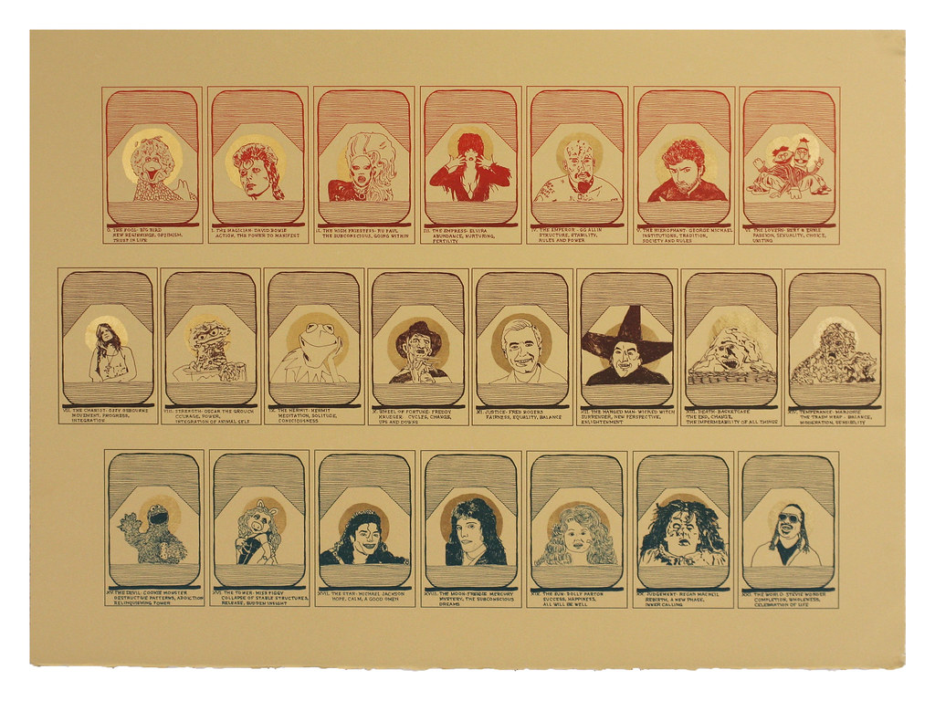 """Tarot Deck #1, """"The Dream Master"""""""