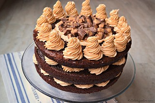 Chocolate Peanut Butter Cake 2 | by katesabella