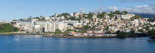 Panorama, Fort de France, Martinique, Caraïbes - 3770