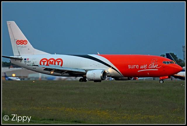 OE-IAT - TNT Airways - Boeing 737 - EMA