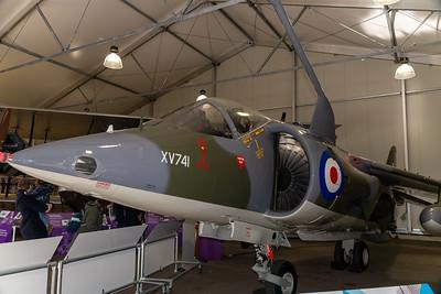 Transatlantic Air Race Harrier XV741
