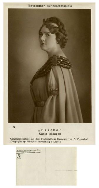 Karin Branzell: