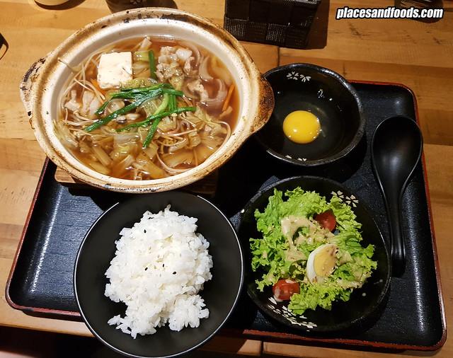 himawari taman desa sukiyaki pork