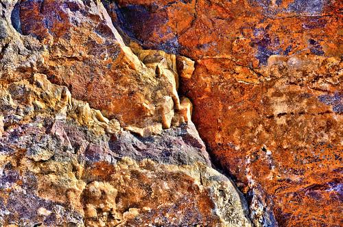 eechillington nikond7500 viewnxi corelpaintshoppro utah hiking rock saltlakecity mountolympus abstract manipulated