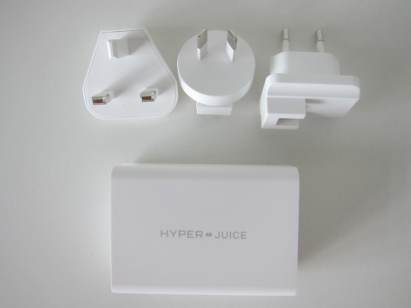 HyperJuice 100W GaN USB-C Charger - Box Contents