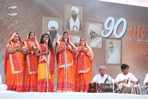 Bhojpuri Geet by Parwati Gautam Ji & Group, Sakinaka, MH
