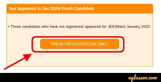 JEE Main 2020 Application Form