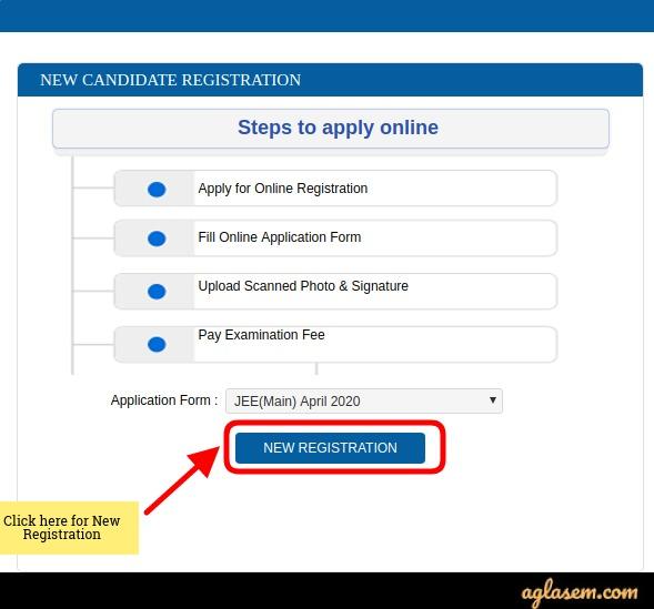 JEE Main Application Form