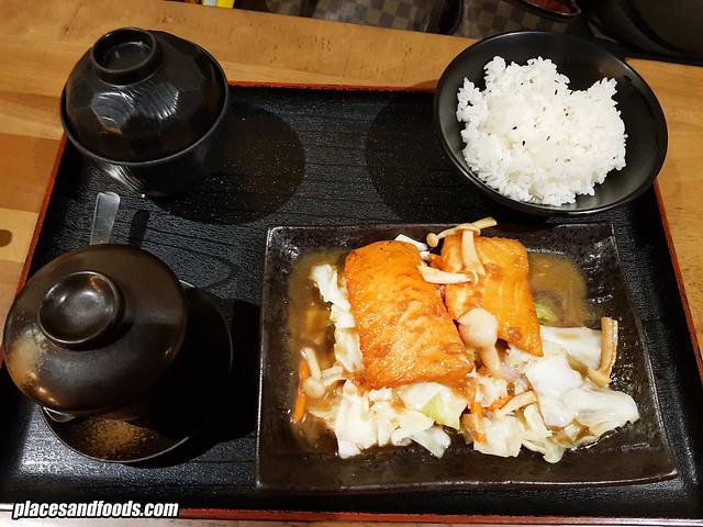 himawari taman desa teppanyaki salmon