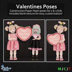 Presenting the new Valentines Poses from Jester Inc.