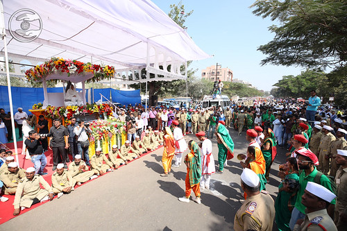 A view of Procession