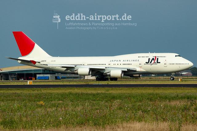 Japan Airlines, JA8076