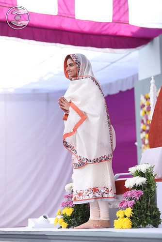 Her Holiness Satguru Mata Sudiksha Ji Maharaj's Arrival