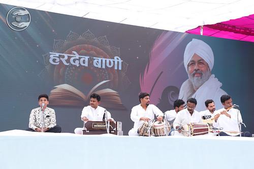 Viraj Deshmukh Ji presented Sampuran Hardev Bani, Nasik, MH