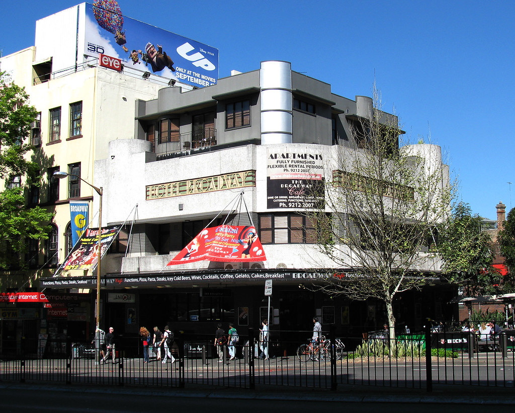 Hotel Broadway, Chippendale, Sydney, NSW.
