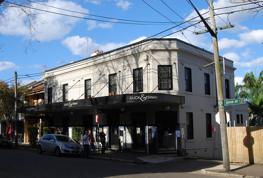 Duck and Swan Hotel, Chippendale, Sydney, NSW.