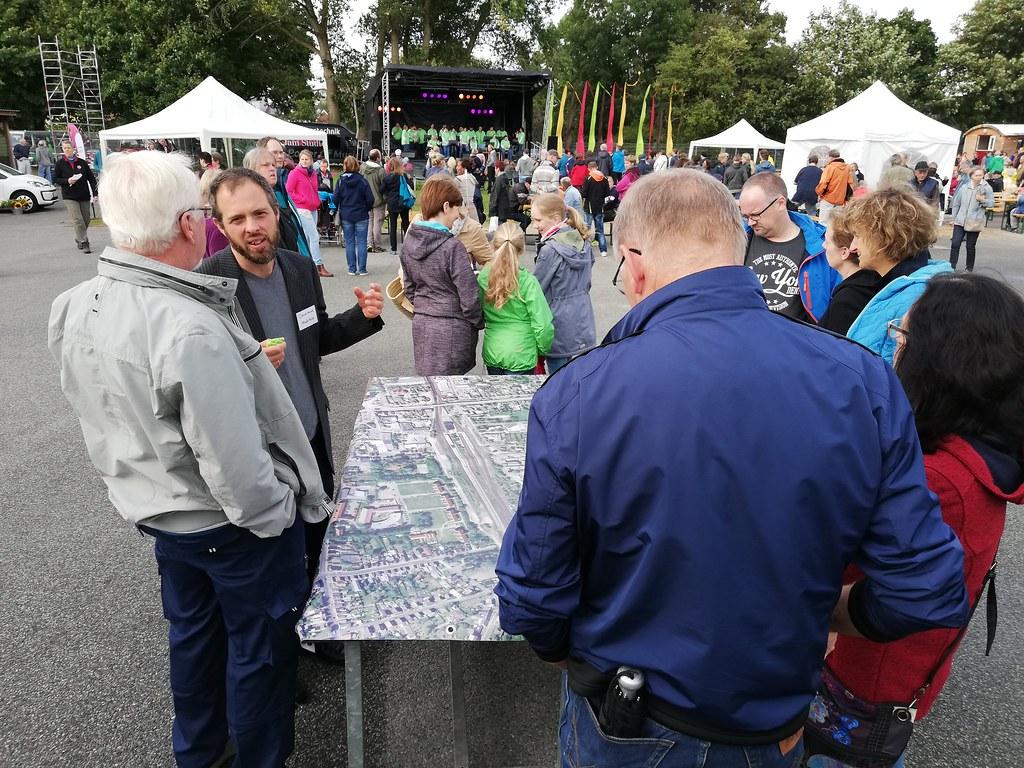Quartiersfest Rüsdorfer Kamp im Spätsommer 2018