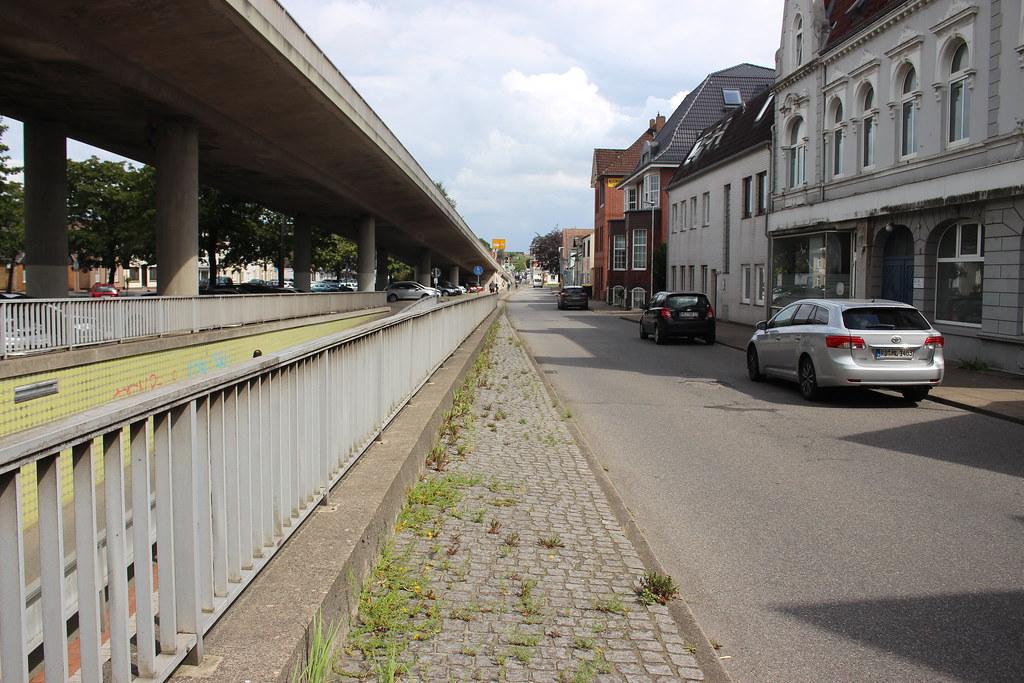 Städtebauliche Situation an der Stadtbrücke