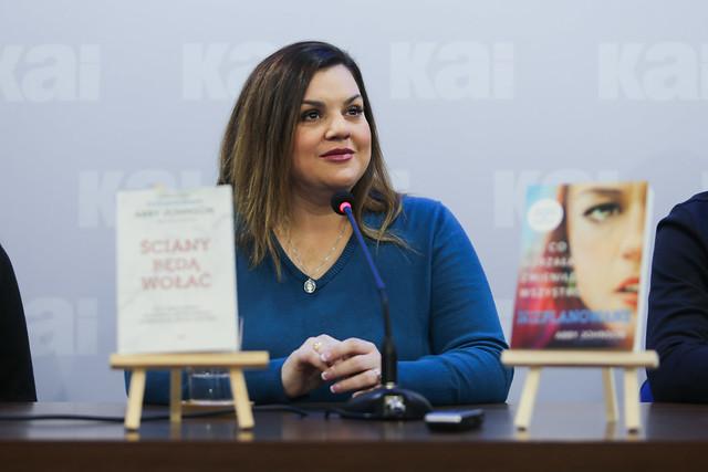 Spotkanie z Abby Johnson - Warszawa, 11 II 2020 r.