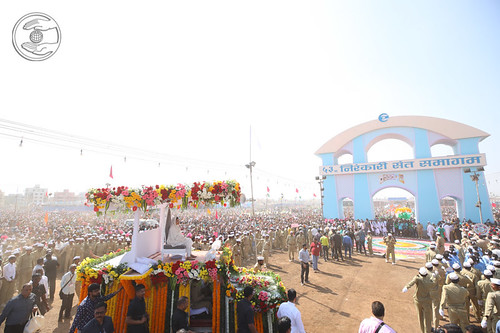 A view of procession in Samagam Ground