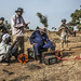 UNAMID's engineering team conduct a geophysical survey in Golo, Central Darfur